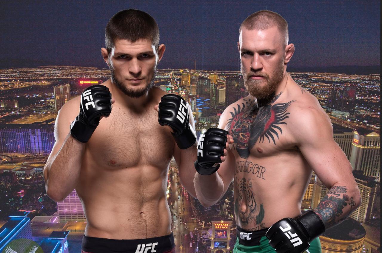 McGregor vs Khabib October 6, 2018 Las Vegas